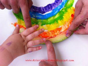 ساختن هندوانه با خمیر بازی04