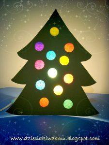 کاردستی درخت کریسمس07