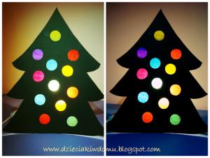 کاردستی درخت کریسمس08