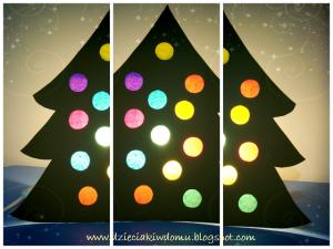 کاردستی درخت کریسمس09
