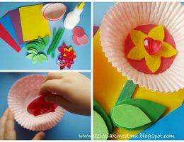 سرا ساخت یک گل با کاغذ 01