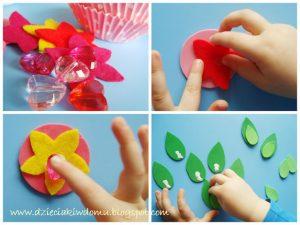 ساخت یک گل با کاغذ