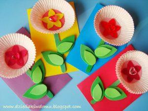 سرا ساخت یک گل با کاغذ 03