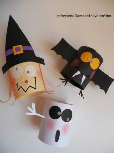 کاردستی جشن هالووین کودکانه