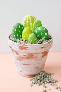 آموزش ساخت کاکتوس با سنگ و رنگ