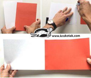 آموزش ساخت بابانوئل با کاغذ