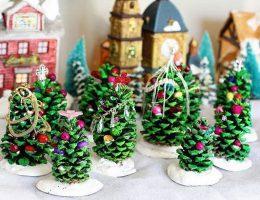 سرا تزئینات با مقوا و کاغذرنگی برای کریسمس 11 3