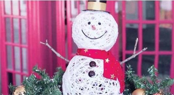 سرا تزئینات با مقوا و کاغذرنگی برای کریسمس 14 6