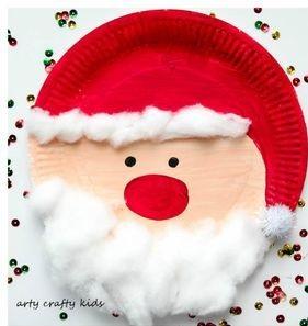 سرا تزئینات با مقوا و کاغذرنگی برای کریسمس 15 1
