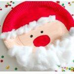 آموزش ساخت بابانوئل با بشقاب
