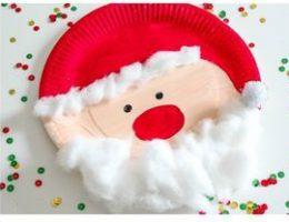 سرا تزئینات با مقوا و کاغذرنگی برای کریسمس 15 2
