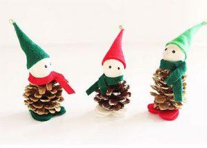 سرا تزئینات با مقوا و کاغذرنگی برای کریسمس 16 2