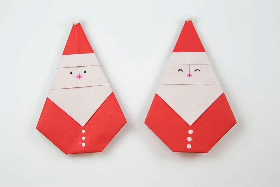 سرا ساخت کاردستی بابانوئل کریسمس 01