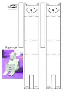 سرا ساخت گربه کاغذی 02