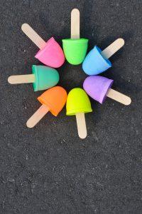 ساخت گچ های رنگی