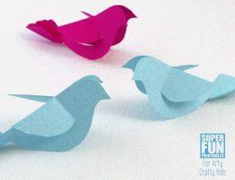 سرا آموزش ساخت کبوتر با کاغذ 02