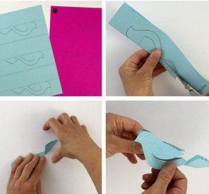 آموزش ساخت کبوتر با کاغذ