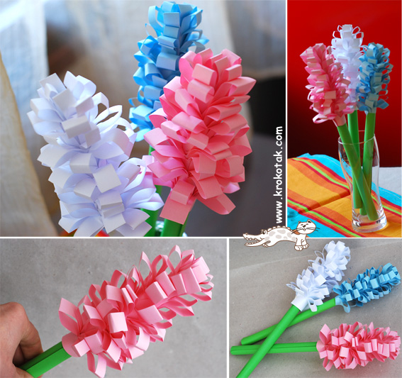 سرا آموزش کاردستی گل های فصل بهار 01