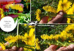آموزش کامل ساخت تاج گل عروس با گلهای طبیعی
