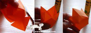 سرا ساخت کاردستی گل لاله از کاغذهای رنگی سری دوم 03