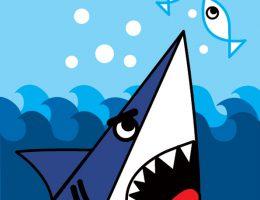 سرا کاردستی کوسه، ماهی و دریا 01