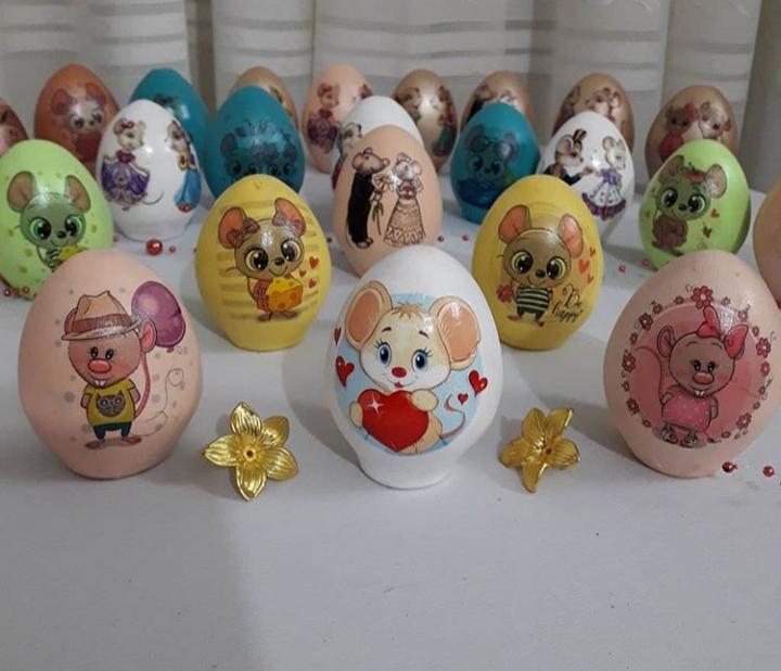 تخم مرغ هفت سین | طرح موش