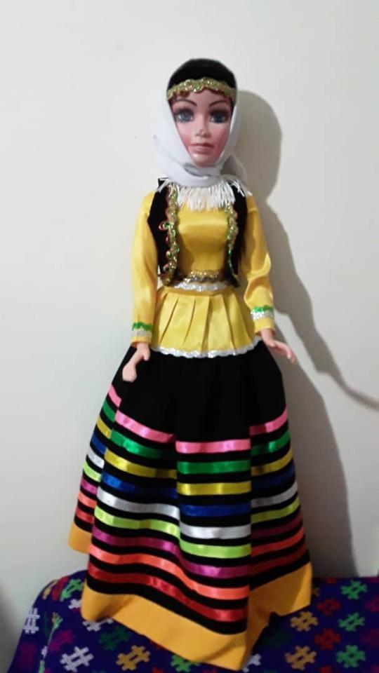لباس و عروسک محلی گیلان