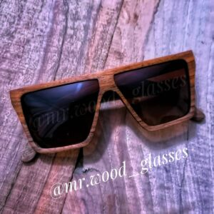 عینک چوبی دست ساز