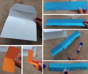 مرحله دوم برش کاغذ